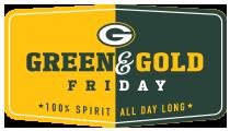 Green & Gold Friday Logo