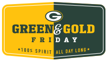 Green & Gold Friday Logo